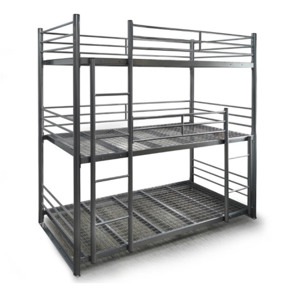 Ultra Heavy Duty Triple Bunk Bed